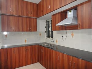 Modular-Kitchen-Interior-brown-color-sri-home-interior-chimney